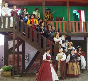 King Richard's Faire singers