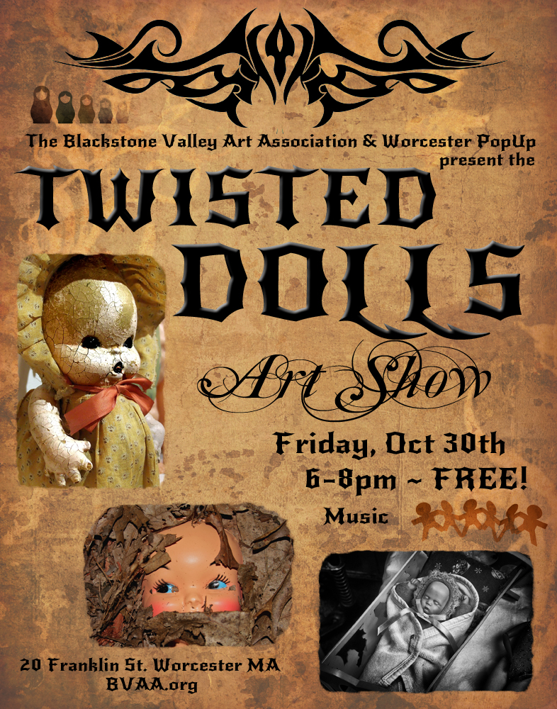 Twisted Dolls Flyer