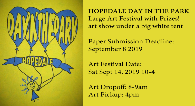 Hopedale Day in the Park 2019 – Sept 14 2019 – BVAA