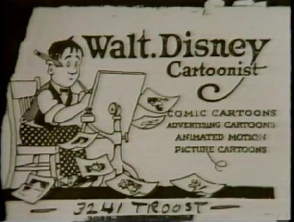 Walt Disney card