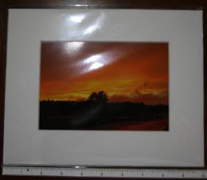 8x10 Matted Photo