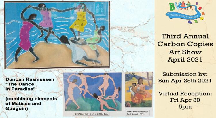 BVAA Carbon Copies Art Show